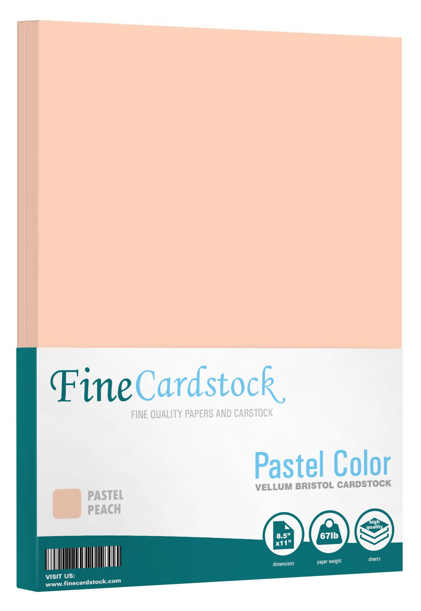 8 1/2 x 11 Pastel Cardstock