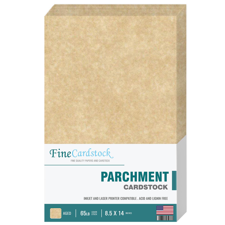 8.5 x 14  Parchment Cardstock