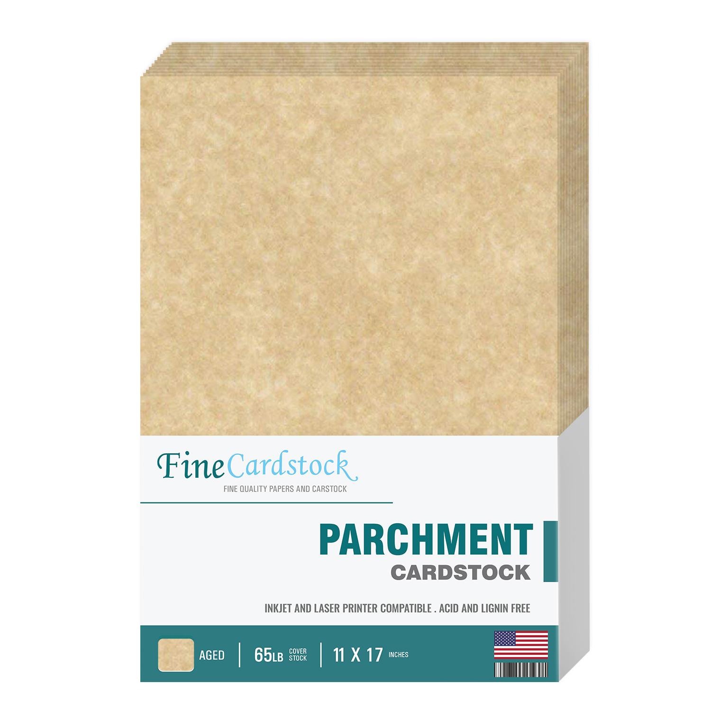 11 x 17  Parchment Cardstock