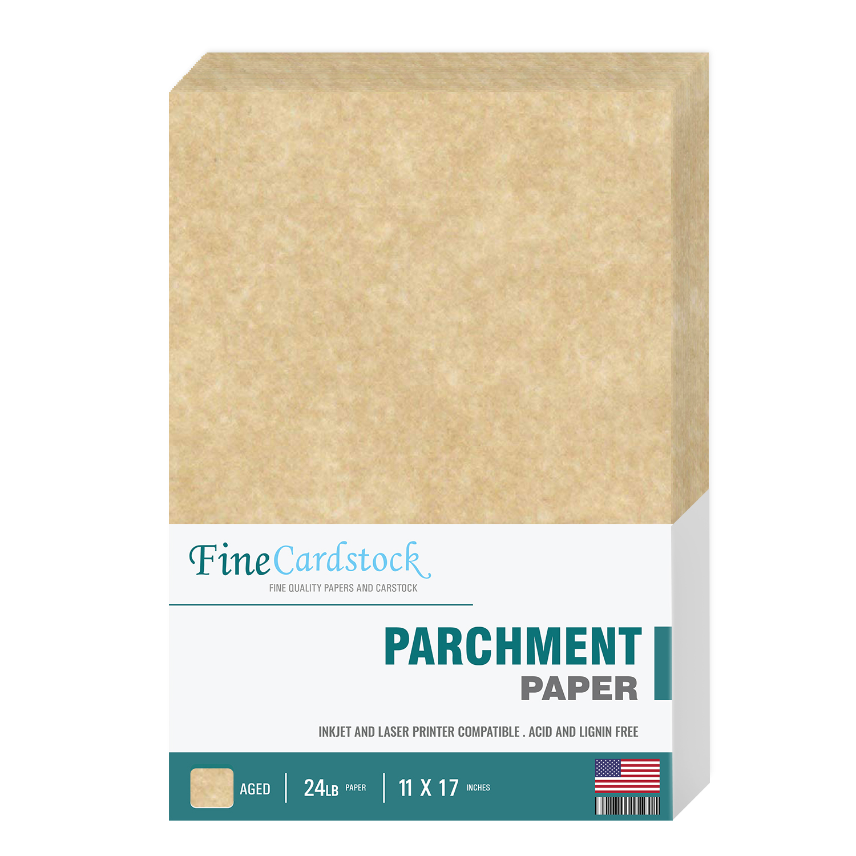 11 x 17  Parchment Paper