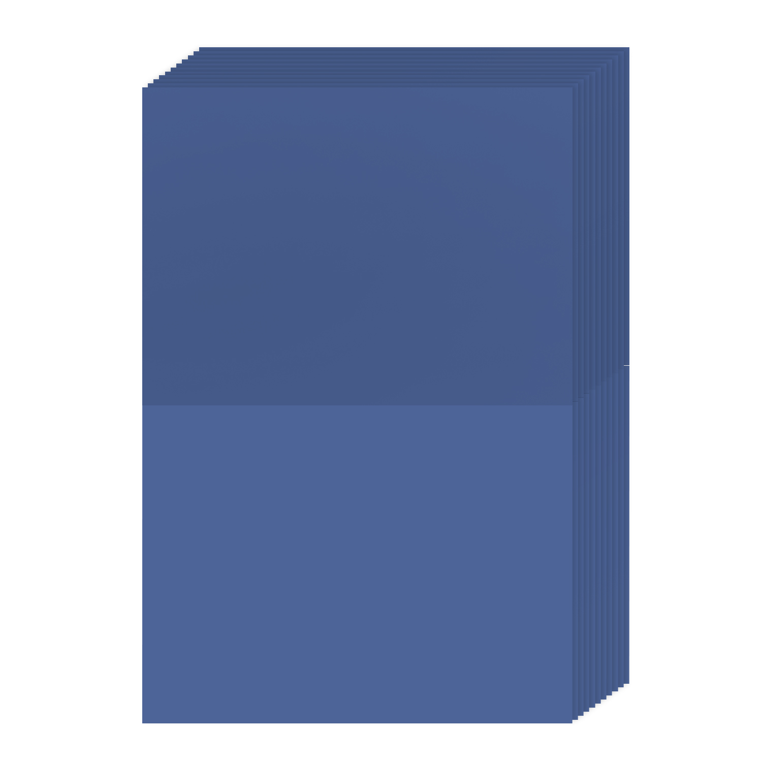 A6 Bright Color Folding Greeting Cards