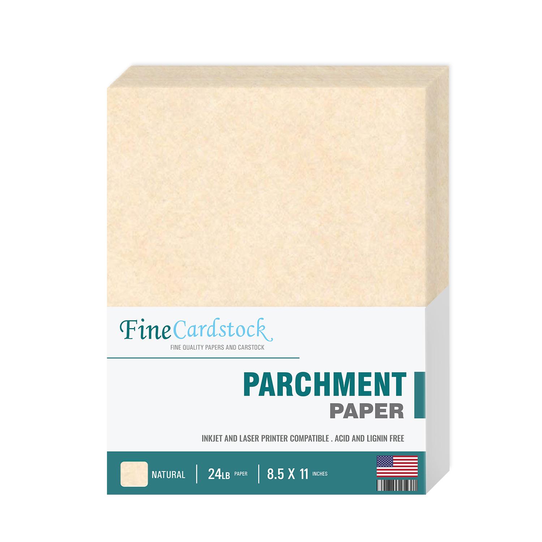 8 1/2 x 11 Parchment Paper