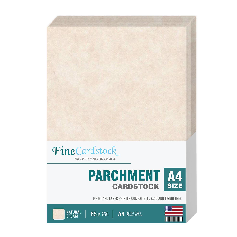 A4 Parchment Cardstock