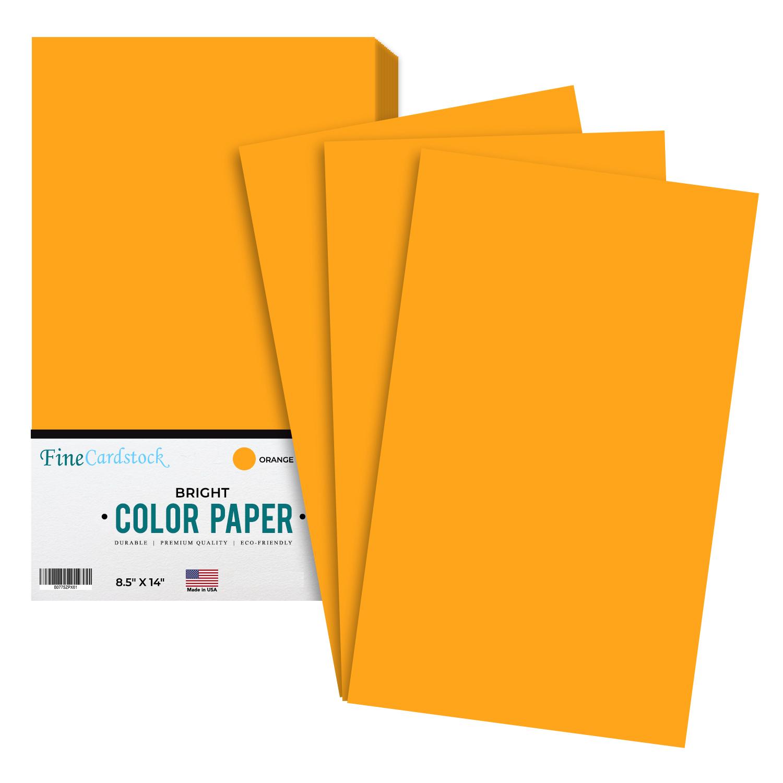 8.5 x 14 Color Paper