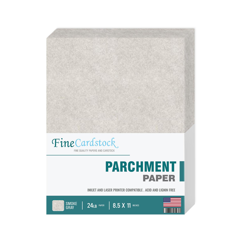 """8.5 x 14/"""" Natural Parchment Paper 50 Sheets Per Pack 24lb Text"""
