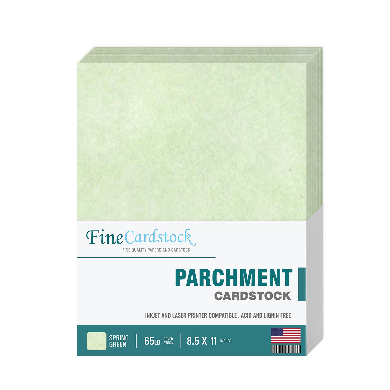 8 1/2 x 11 Parchment Cardstock