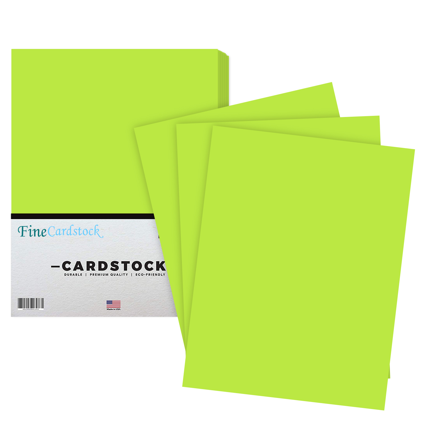 8 1/2 x 11 Color Cardstock