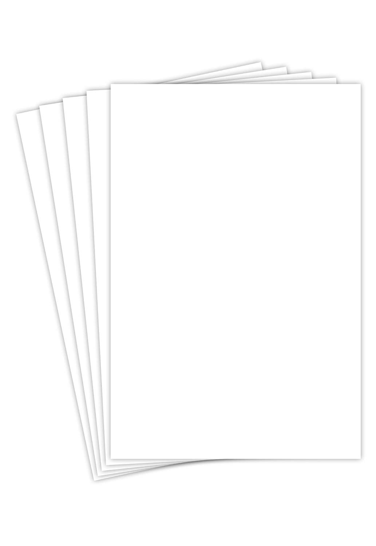 8 1/2 x 11 White Gloss Paper
