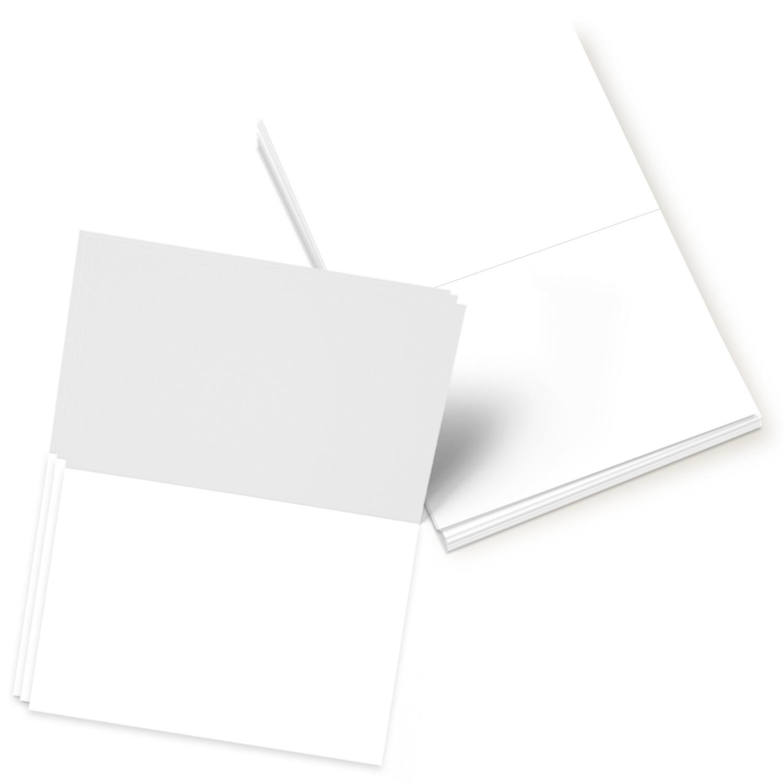 Blank Foldover Card – Size A2 – 4.25″ x 5.5″