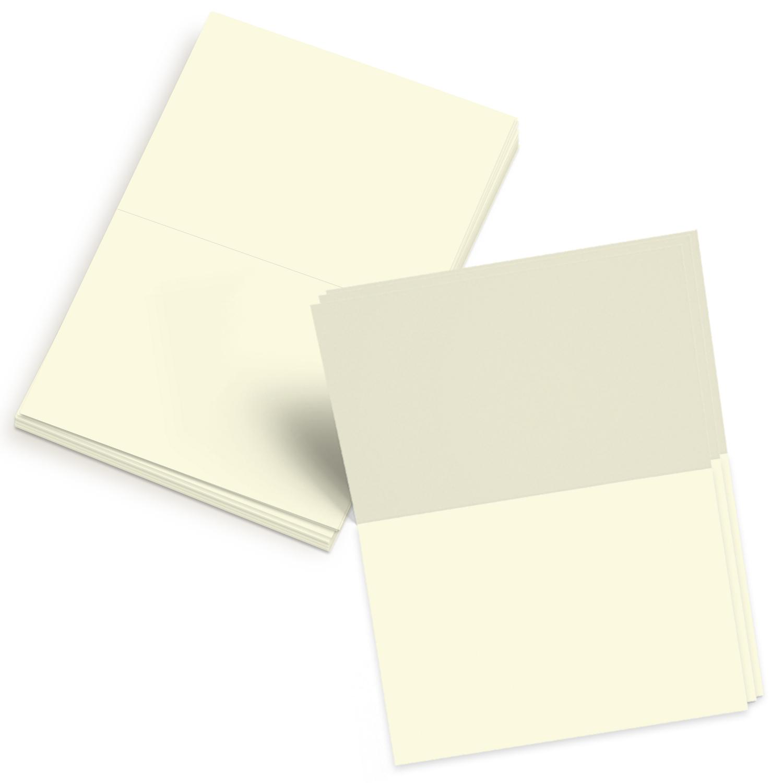 Blank Foldover Card – Size A4 – 4″ x 6″