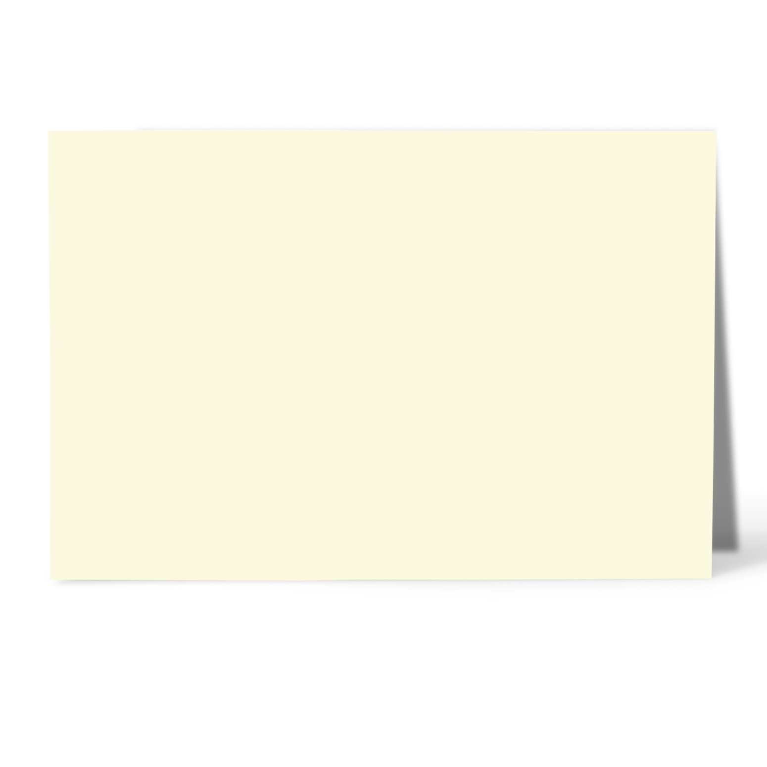 what is the size of a note card