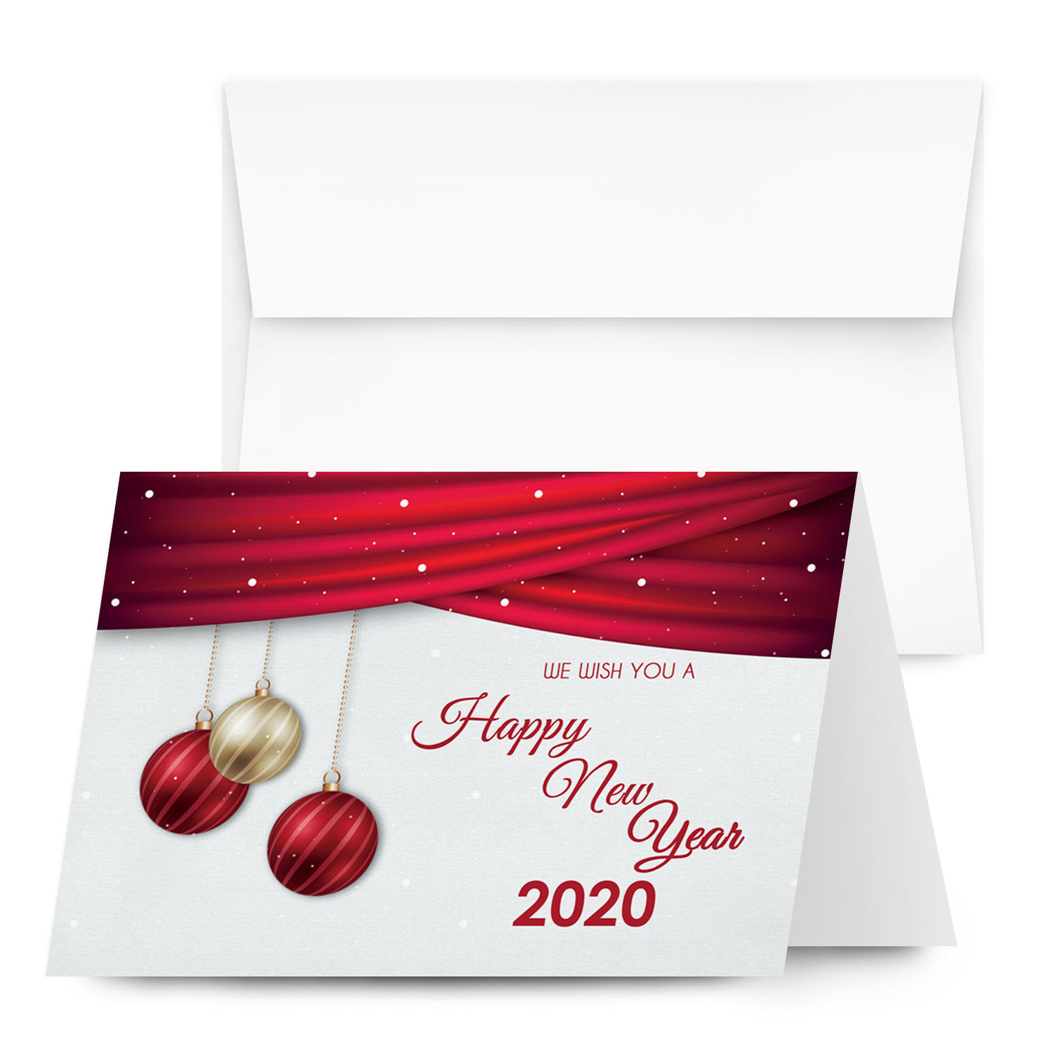 4 1/4″ X 5.5″ Holiday Folding Cards with Envelopes