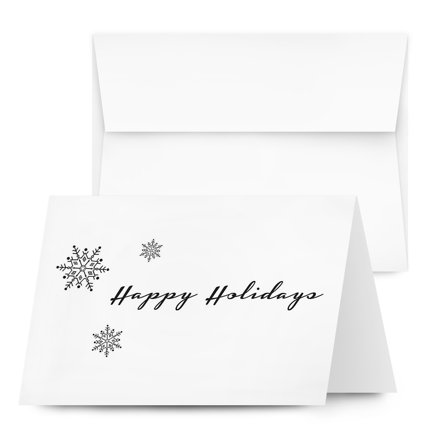 5″ X 7″ Holiday Folding Cards with Envelopes