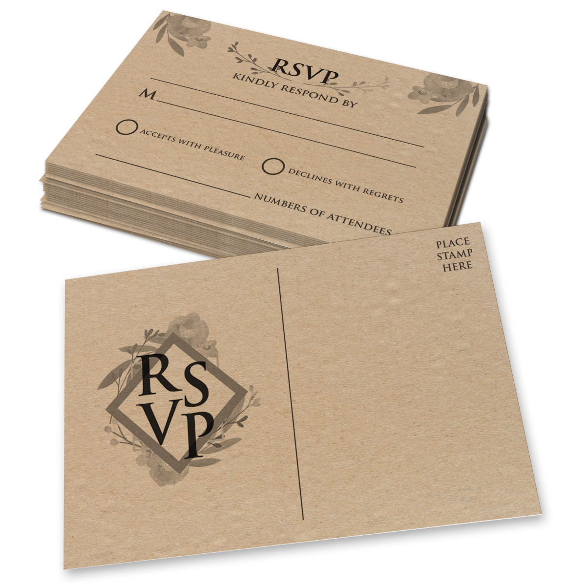 4 x 6 RSVP Cards