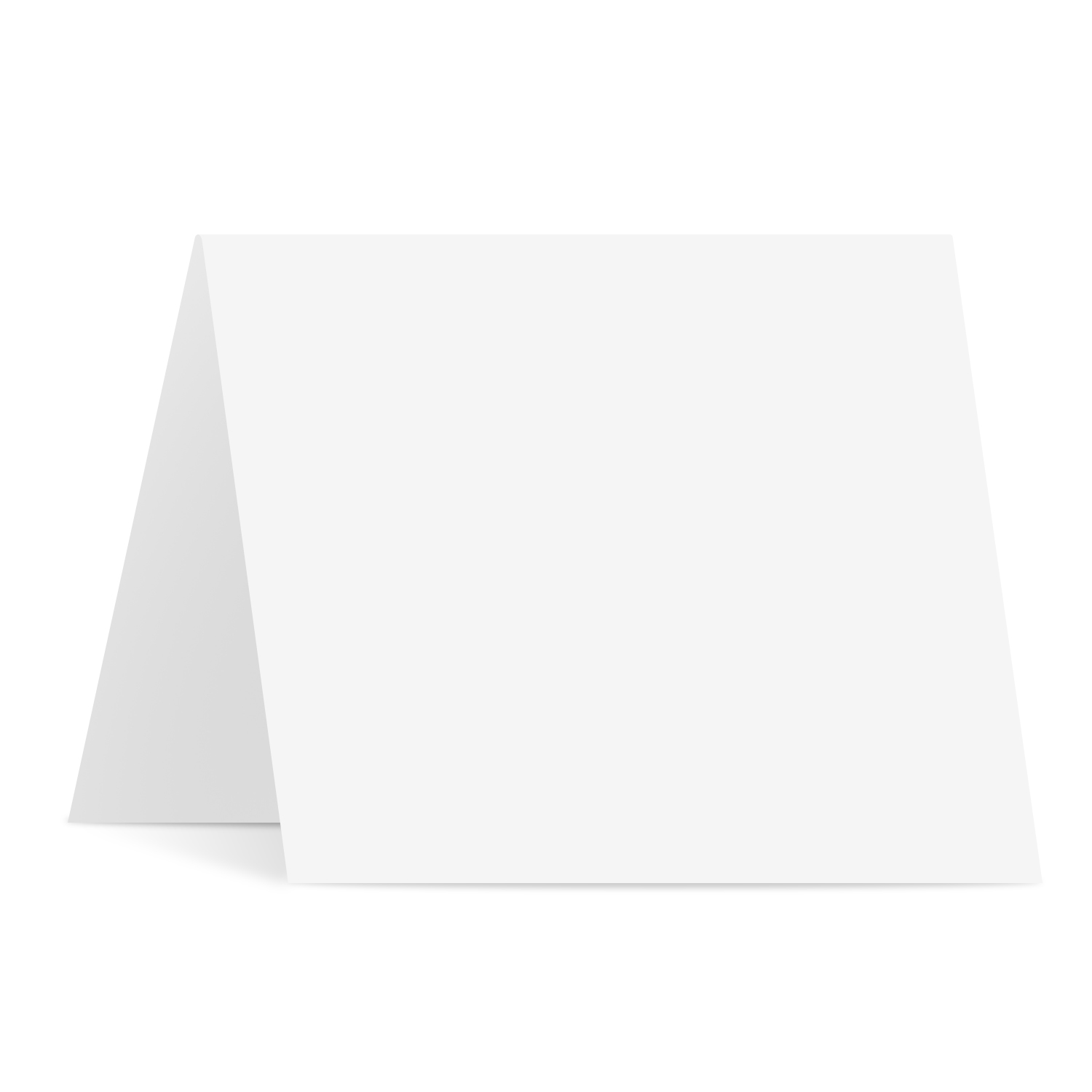 Blank Square Foldover Card – Size 5 1/4″ X 5 1/4″