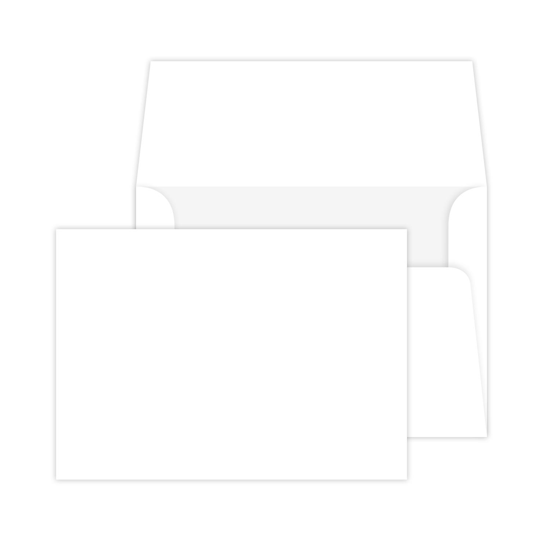 4.25″ X 5.5″ Flat Note Card