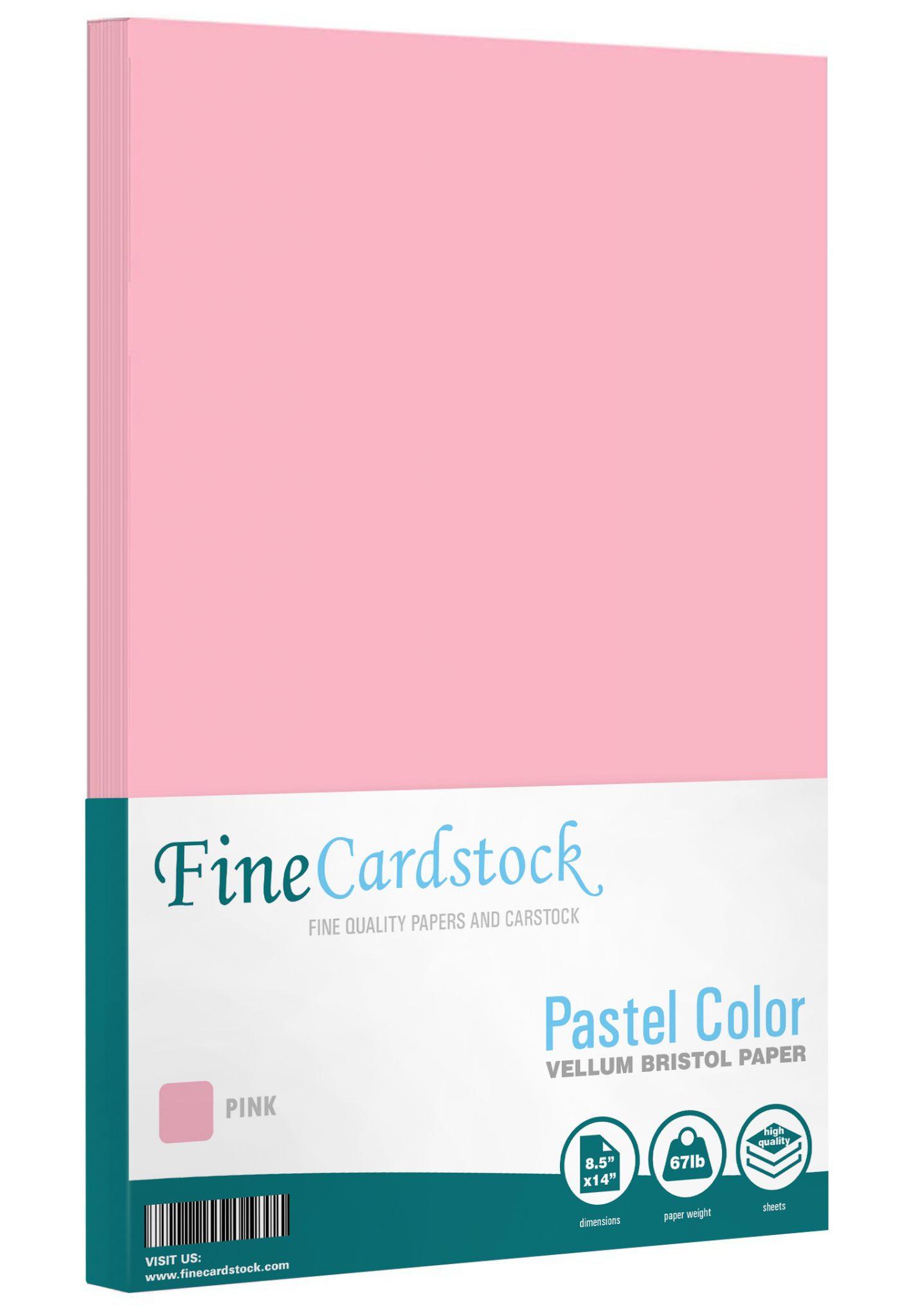 8.5 x 14 Pastel Paper