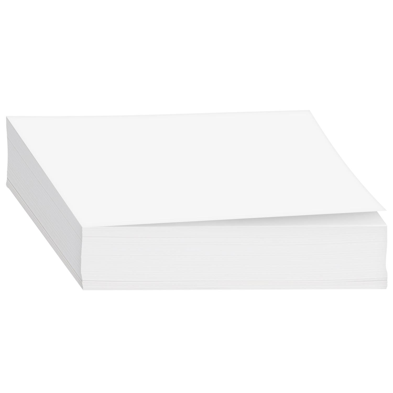 White Memo Sheets