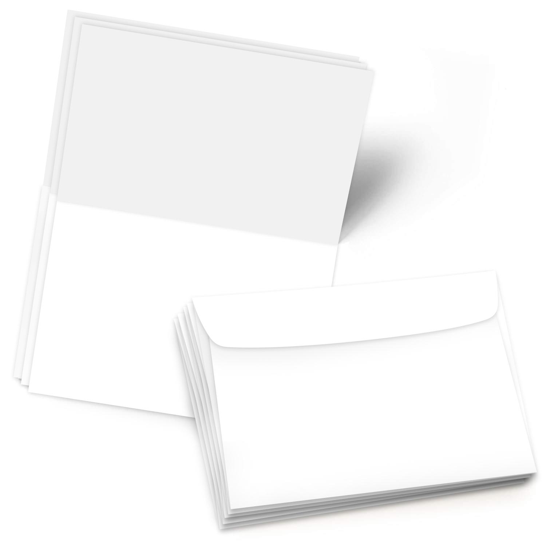 8.5″ X 11″ Scored Foldover Cards