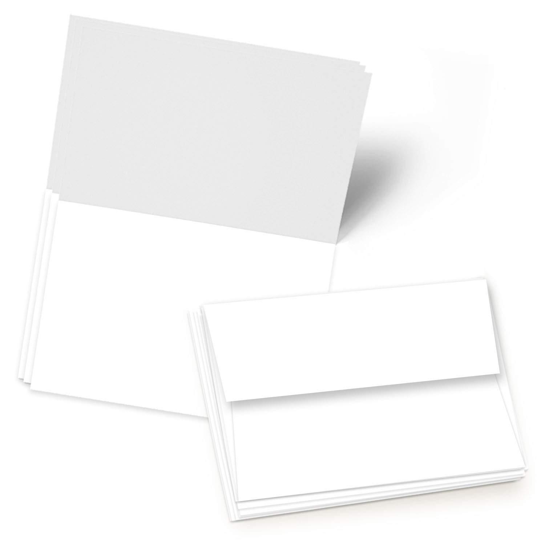 Blank Foldover Card – Size A6 – 4.5″ X 6″