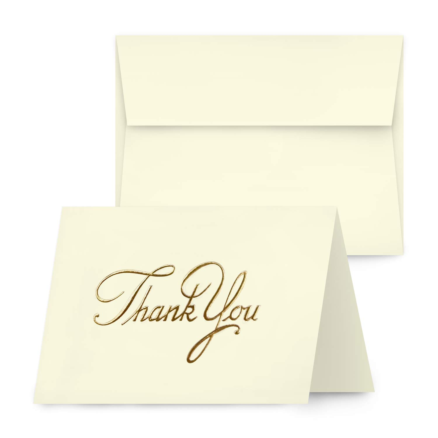 Foil Stamp Thank You Cards