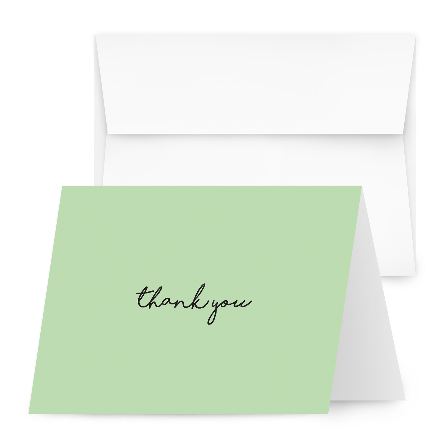Thank You Greeting Cards 4 1/4 X 5 1/2