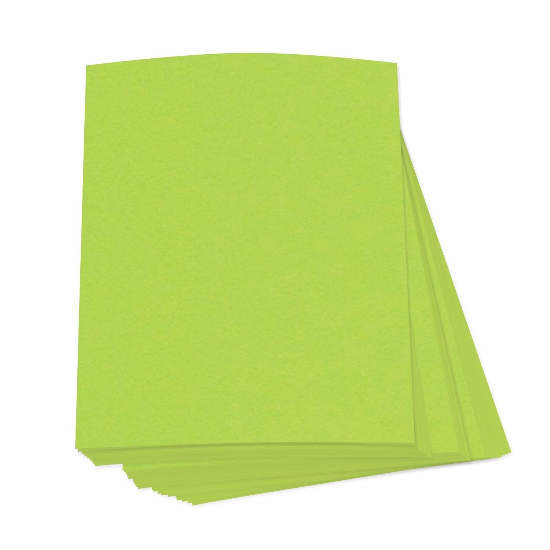 8 1/2 x 11 Bright Neon Fluorescent Labels