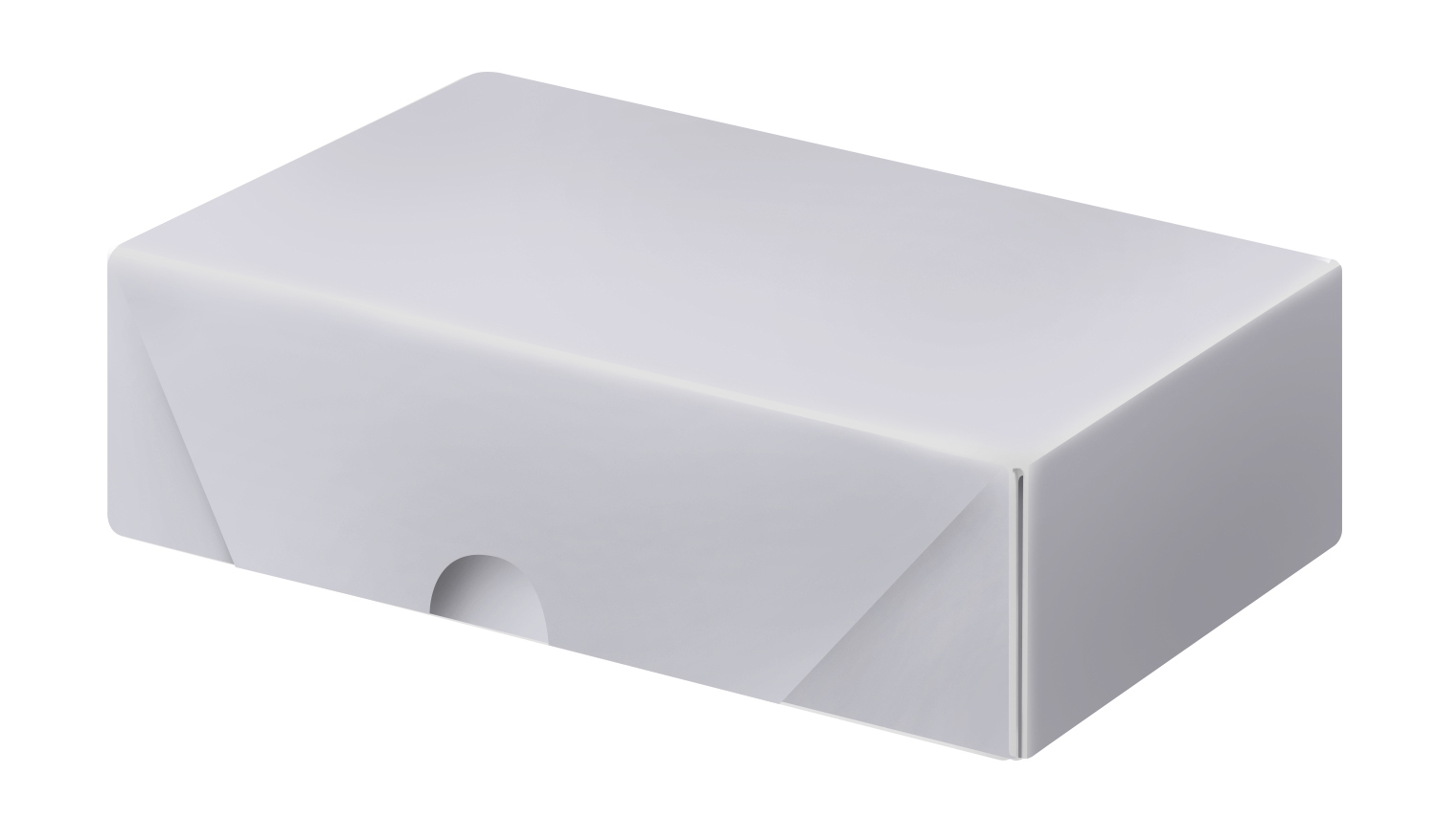 White Business Card Folding Boxes