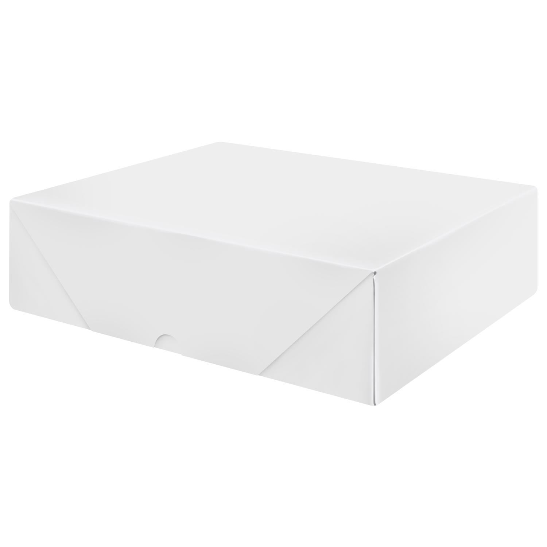 White Letterhead Folding Boxes