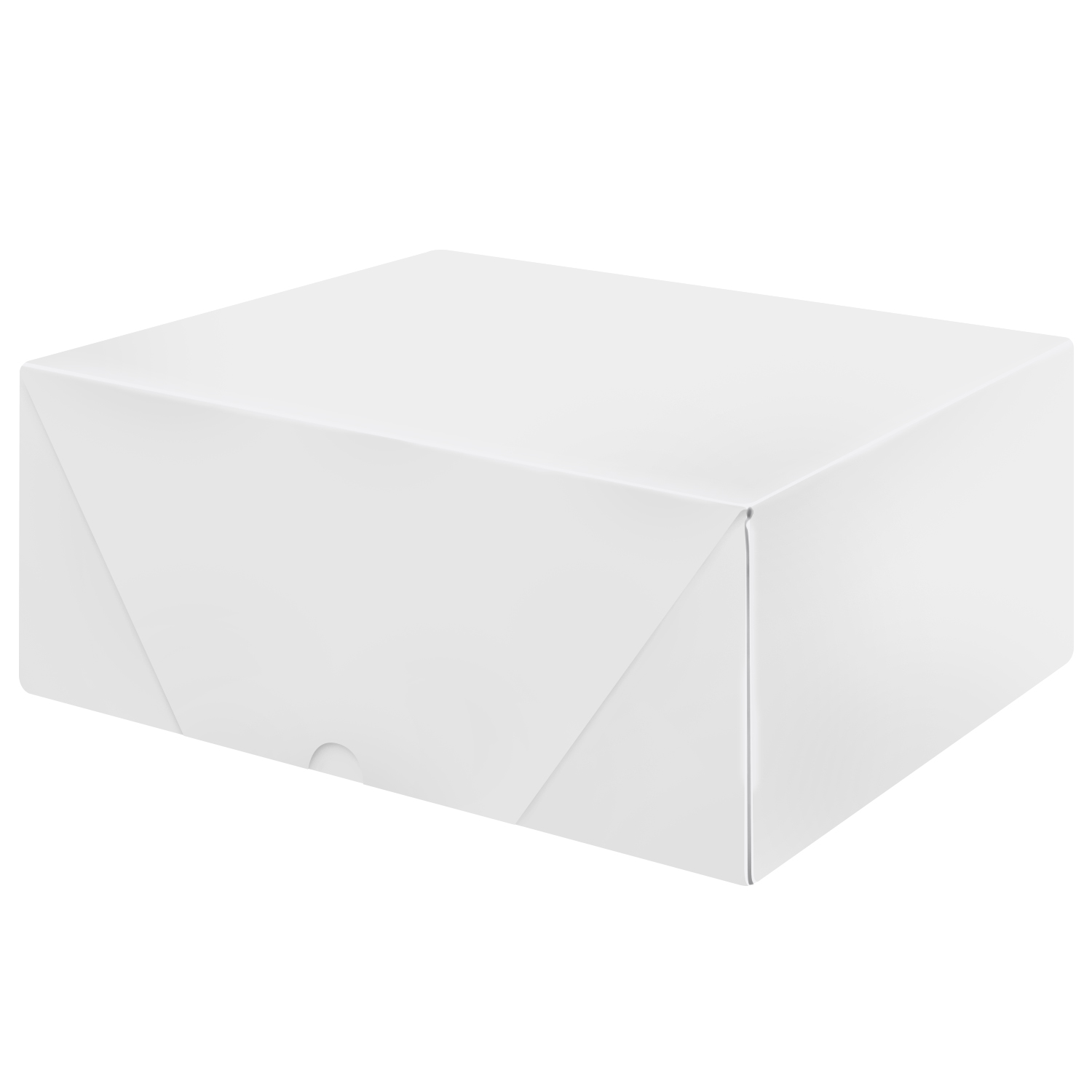 White Letterhead Folding Boxes