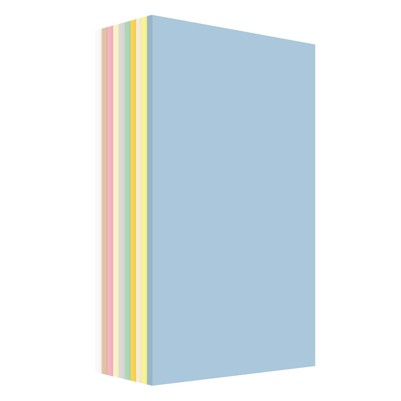 Pastel Cardstock Assortment Colors