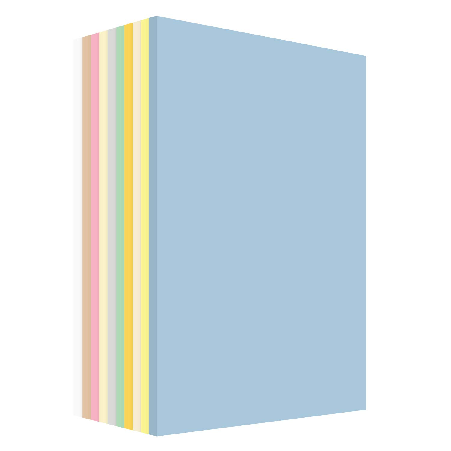 Pastel Cardstock Assortment Colors