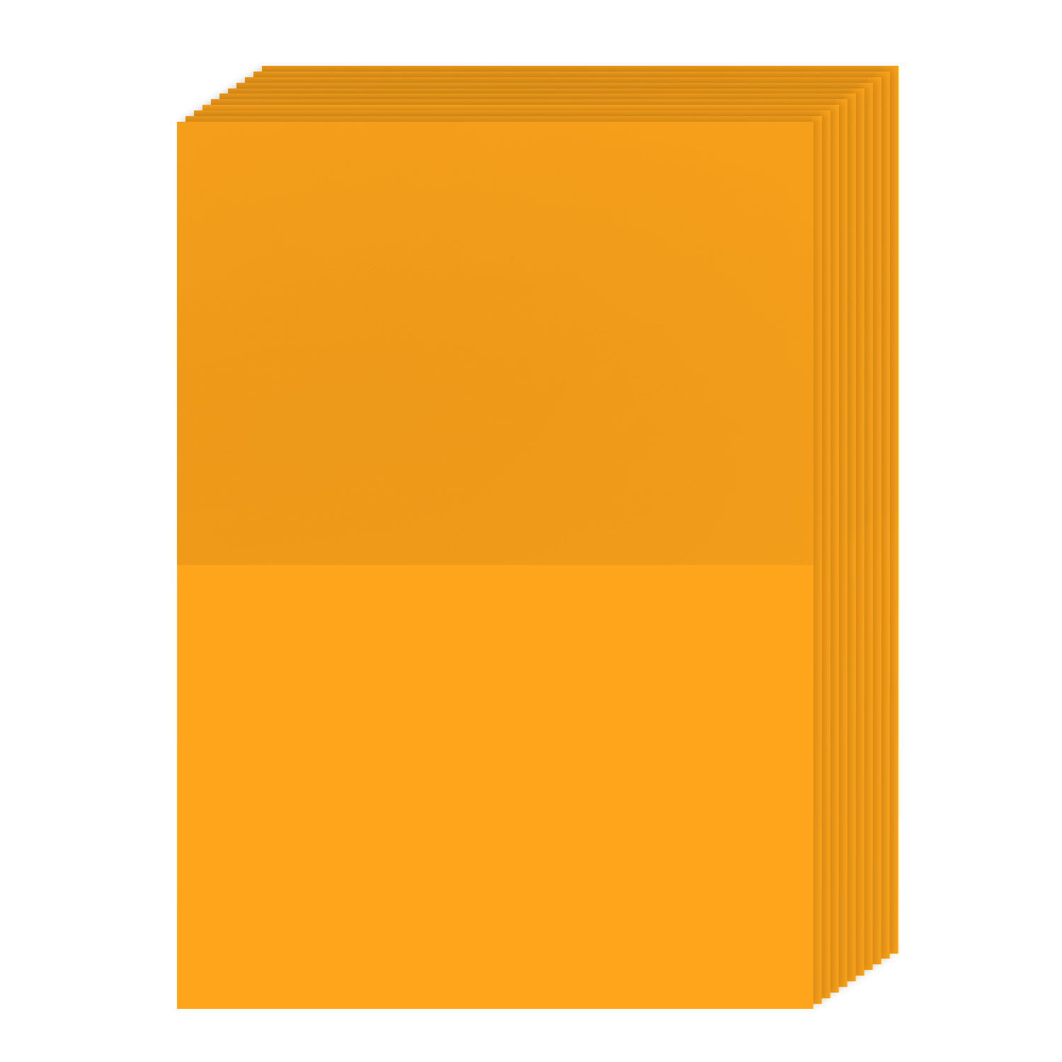 A7 Bright Color Folding Greeting Cards