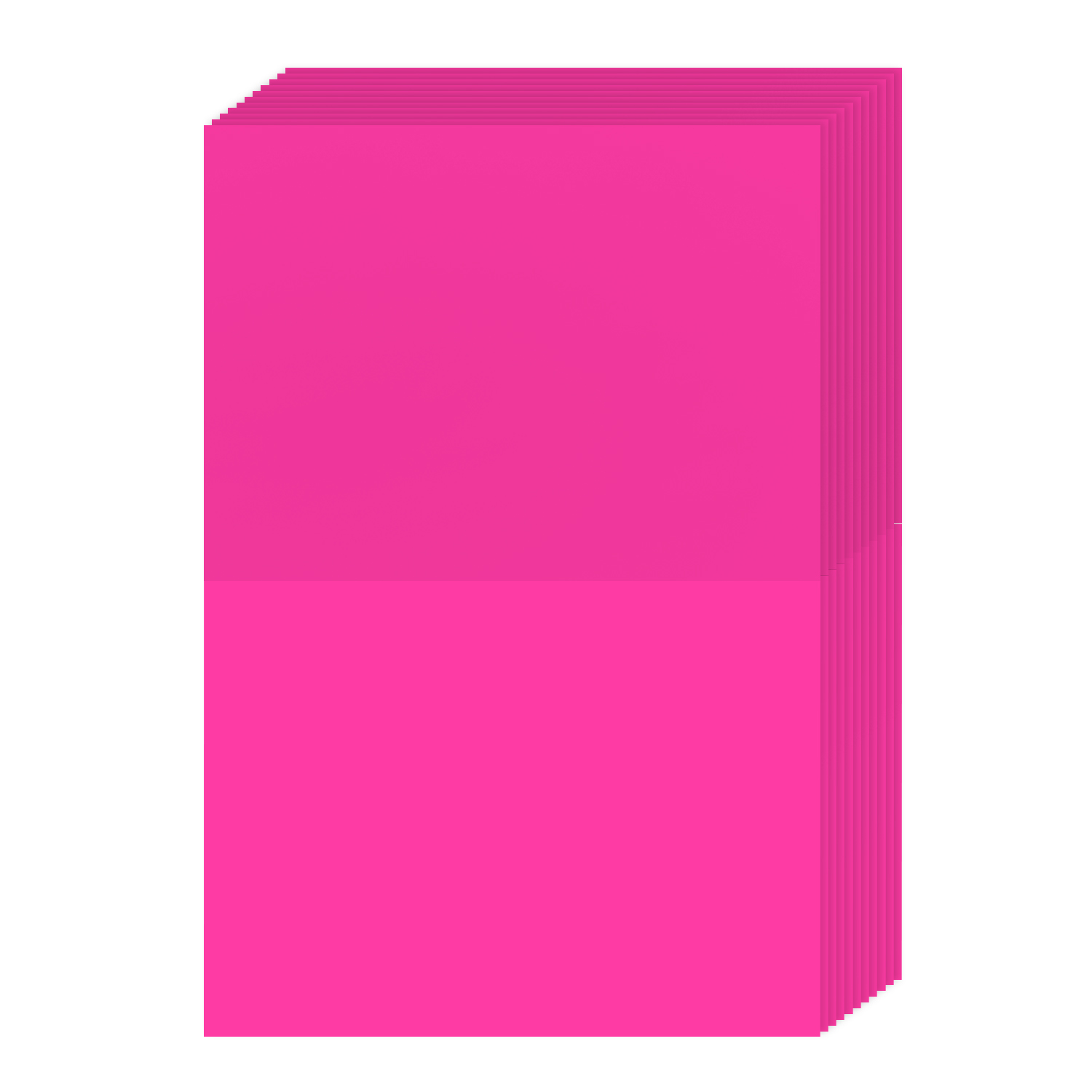 A2 Bright Color Folding Greeting Cards