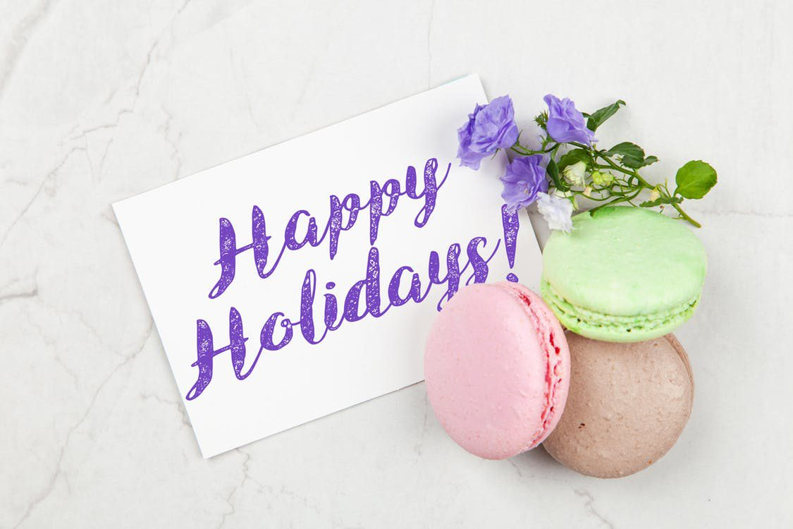 Image showing happy holidays