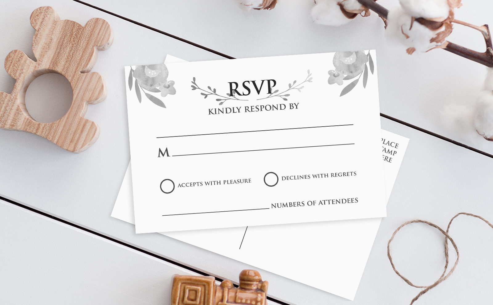 HOW TO WRITE A WEDDING RSVP CARD