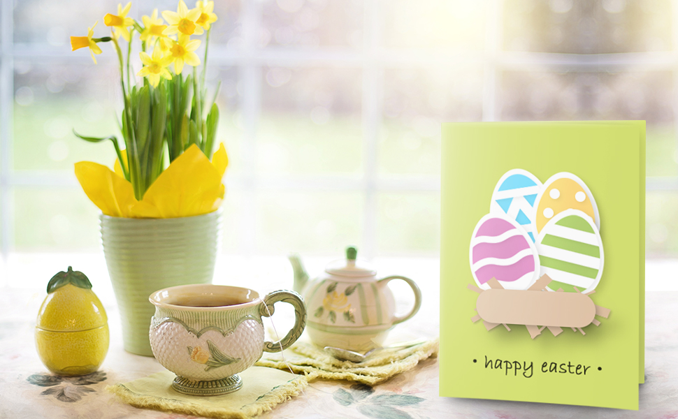 CUTE AND LOVELY DIY CARD TO SEND TO LOVED ONES THIS EASTER