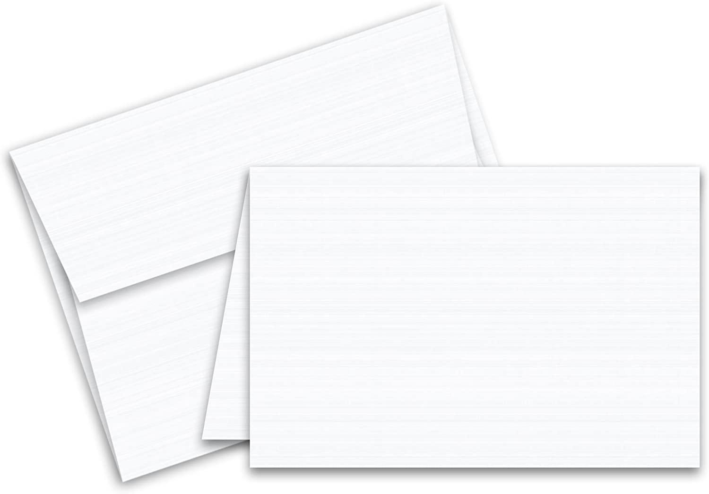 Blank Foldover Card – Size A5 – 5″ X 5″
