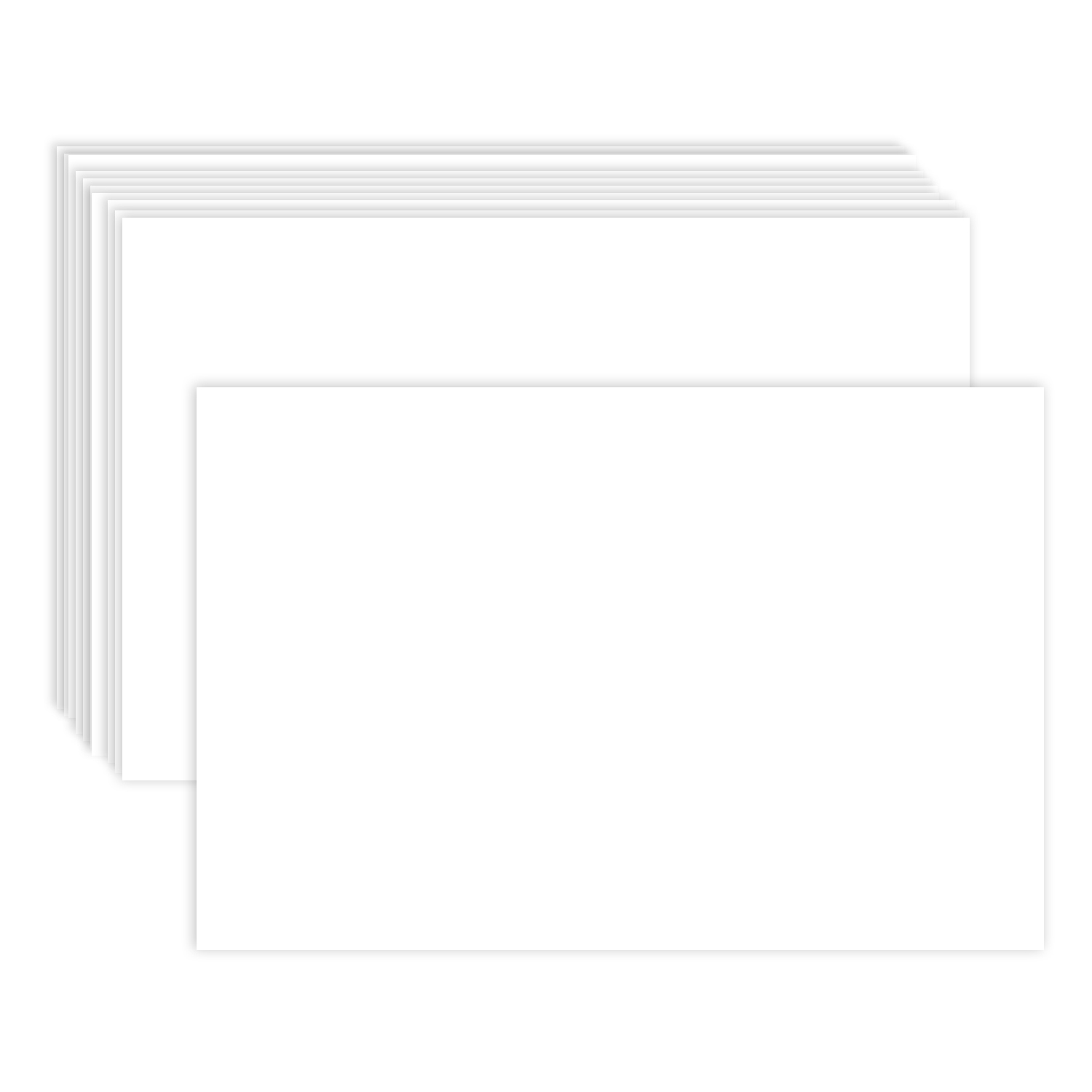 4″ X 6″ Flat Note Cards