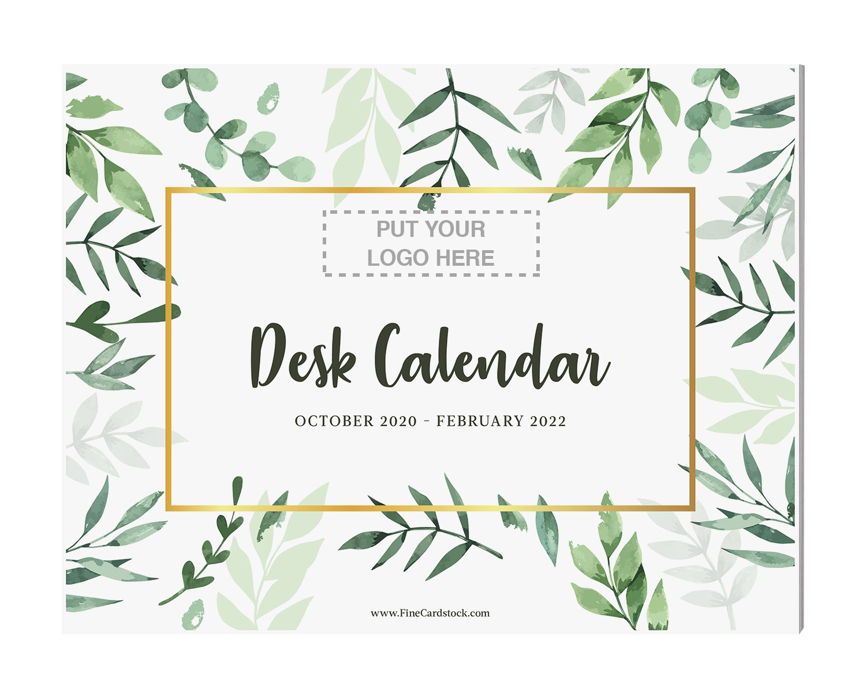 8 1/2 x 11 Desk Calendar