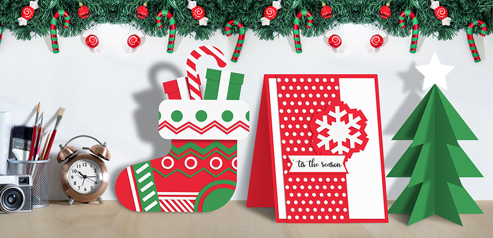 How To Make Your Own Christmas Holiday Cards