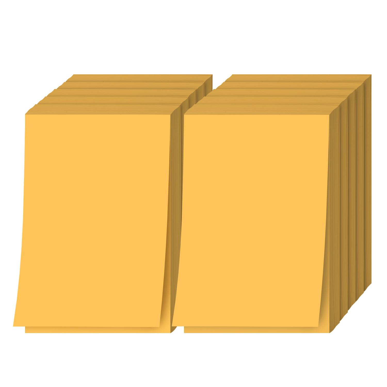 Ultra Orange Memo Pads
