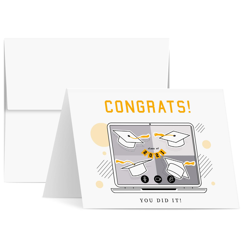 Graduation 2021 Greeting Cards