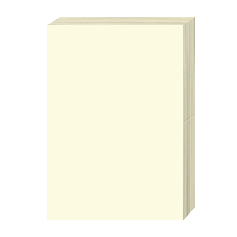 Blank Foldover Card – Size A7 – 5″ X 7″